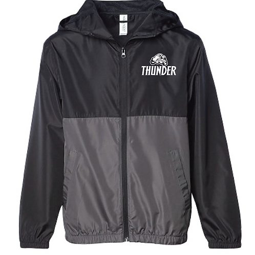Lightweight Windbreaker - Thunder Soccer