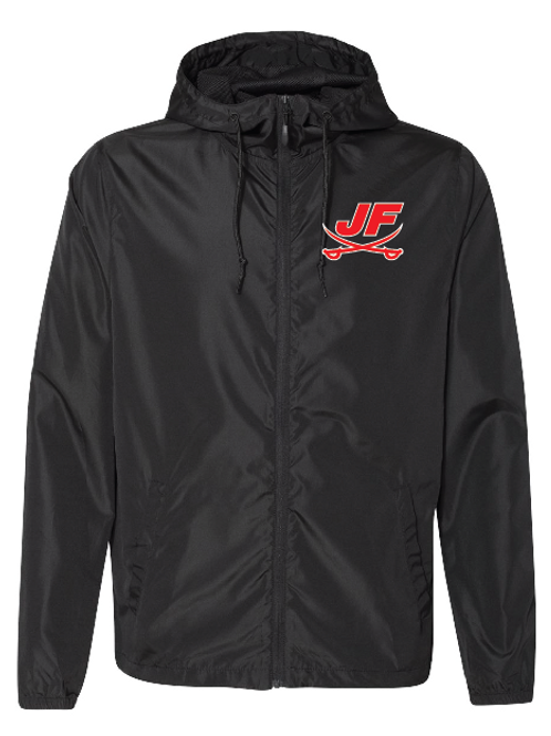 Full Zip Lightweight Windbreaker - JF