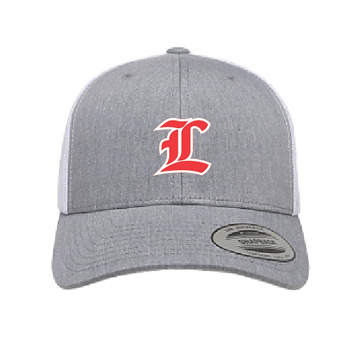 LHS Flex Fit 2 Tone Trucker Embroidered Hat
