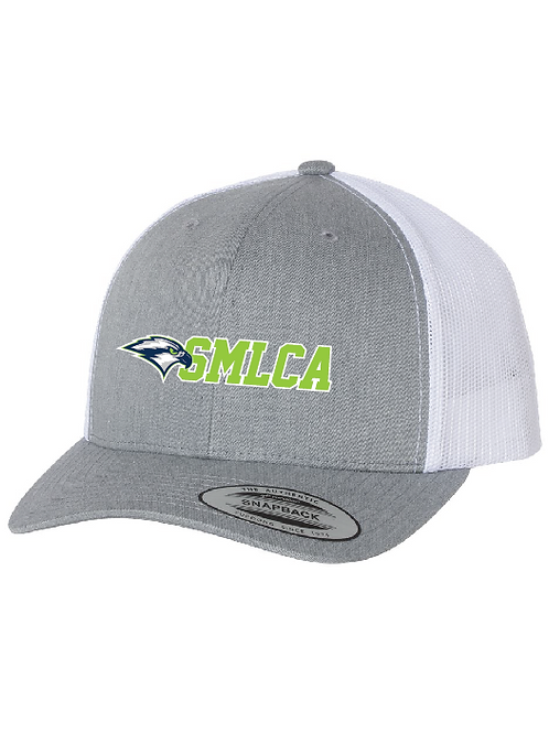 SMLCA Flex Fit 2 Tone Trucker Embroidered Hat