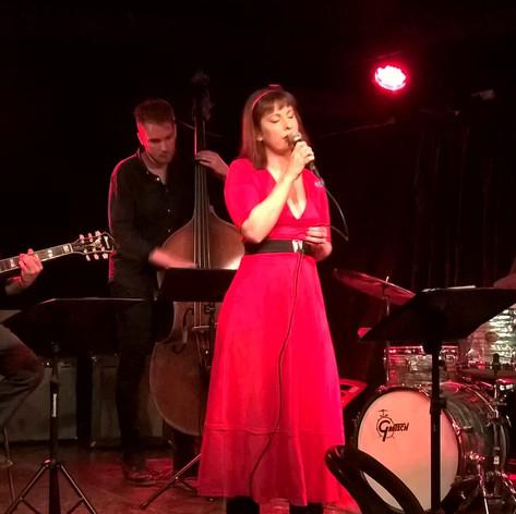 Mariah Hortans Jazz Quartet live at The Doo-Bop Club