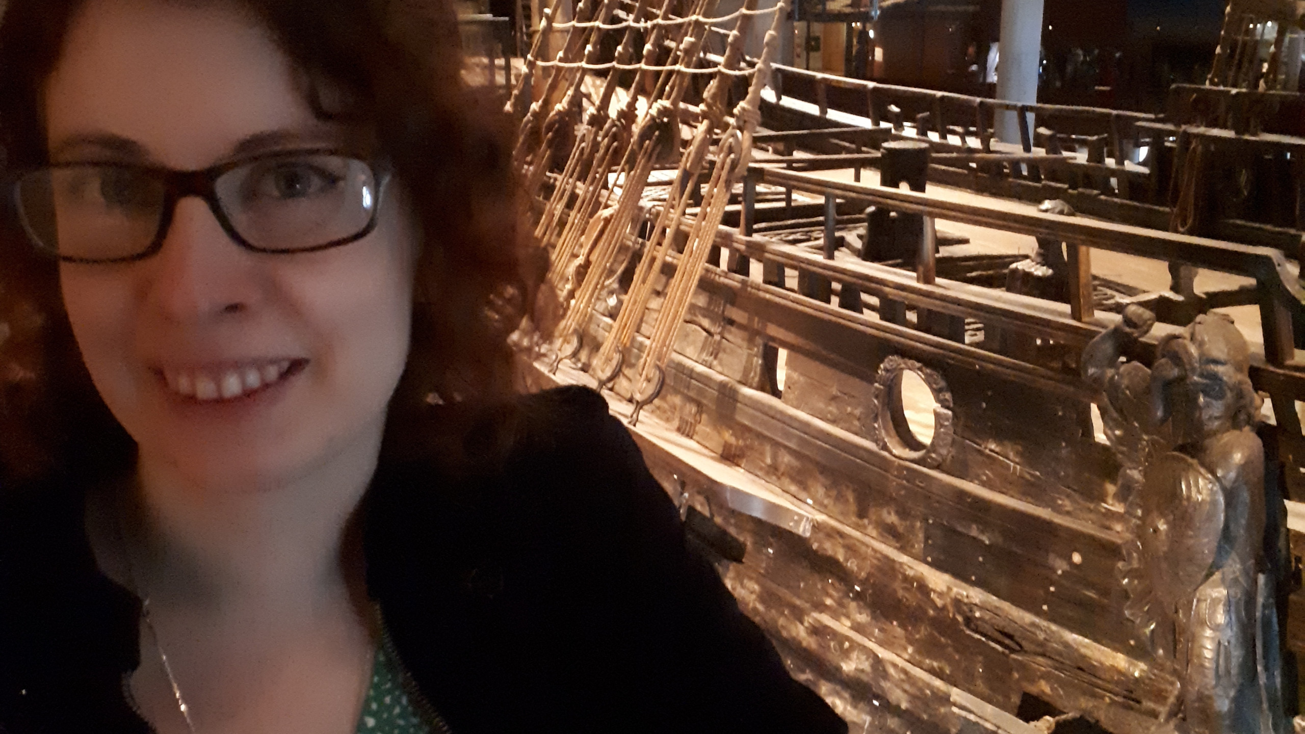 and even more boats..  We visited the museum of the ship Vasa that sank 1628 and got salvaged 1961, super cool stuff!