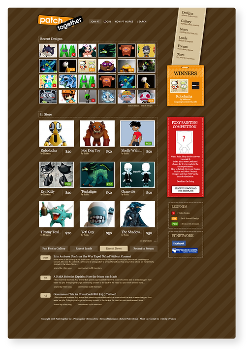 Toy Artists - Ecommerce Website