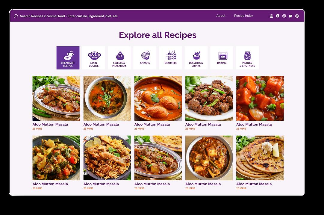 Vismai Food - Recipes