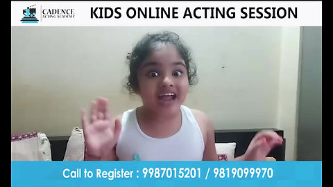 Kids Online Acting Classes