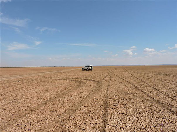 The Chalbi Desert easily accessed from Koros Camp - what to do in Turkana