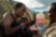 Maasai man at Koros Camp in Turkana, Kenya