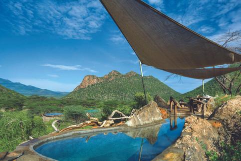 Things to do in Turkana at Koros Camp - plunge pool