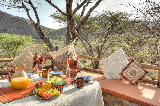 Breakfast in Turkana at Koros Camp - Where to stay