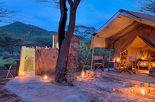 Accommodation at Koros Camp in Turkana, Kenya