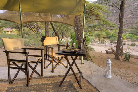 Accommodation in Turkana at Koros Camp - Where to stay