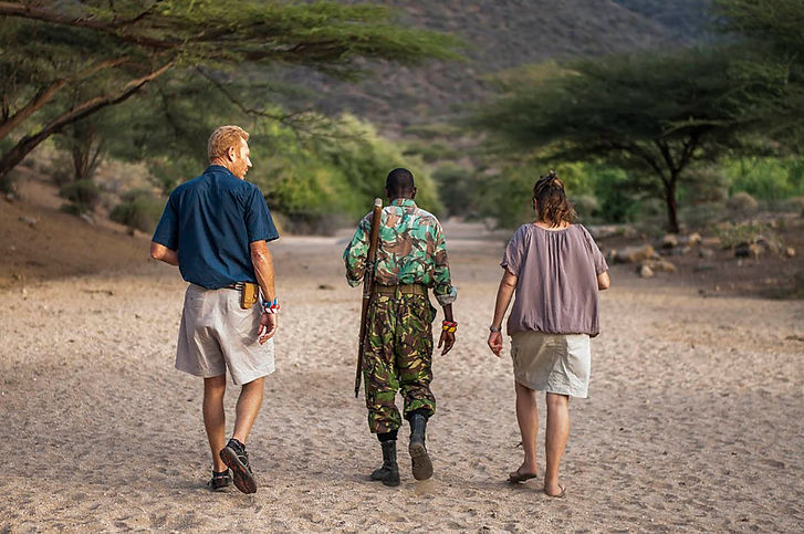 What to do in Turkana - go for guided walks at Koros Camp