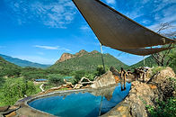 What to do in Turkana - plunge pool at Koros Camp, Kenya