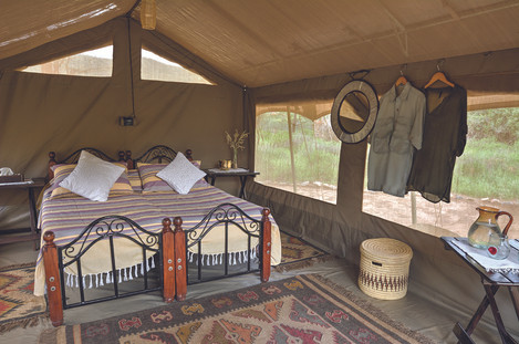 Accommodation in Turkana at Koros Camp, Kenya