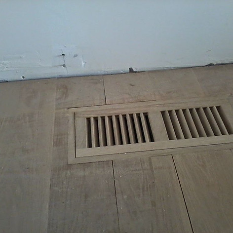 Custom Made Floor Flush Mount Return Air Grill