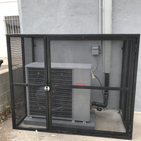Custom Made Caged Unit