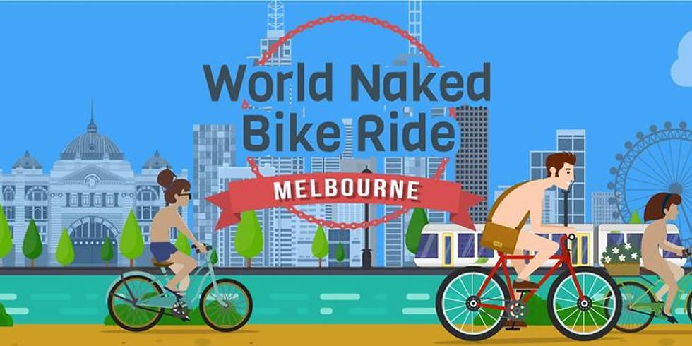 2021 - World Naked Bike Ride Melbourne