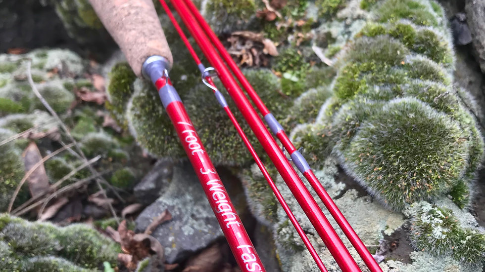 7' - 3 Weight Statera Fast Action Fly Rod