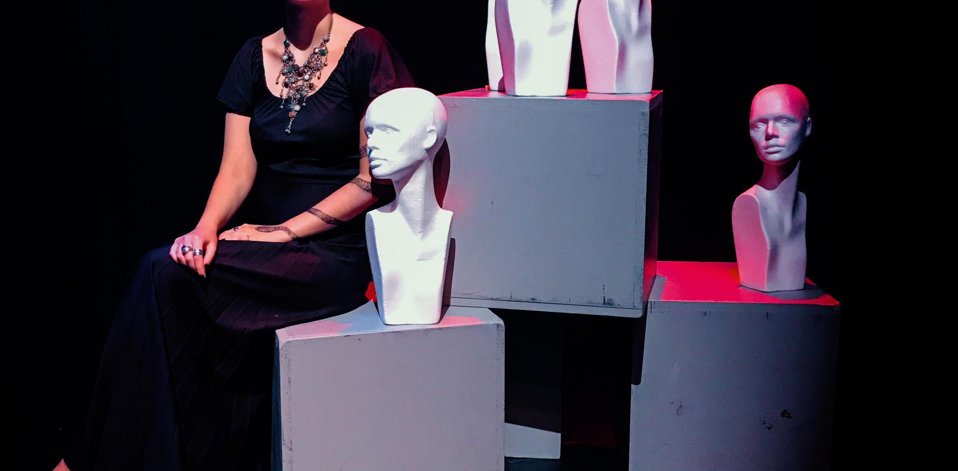 Viktoria on stage