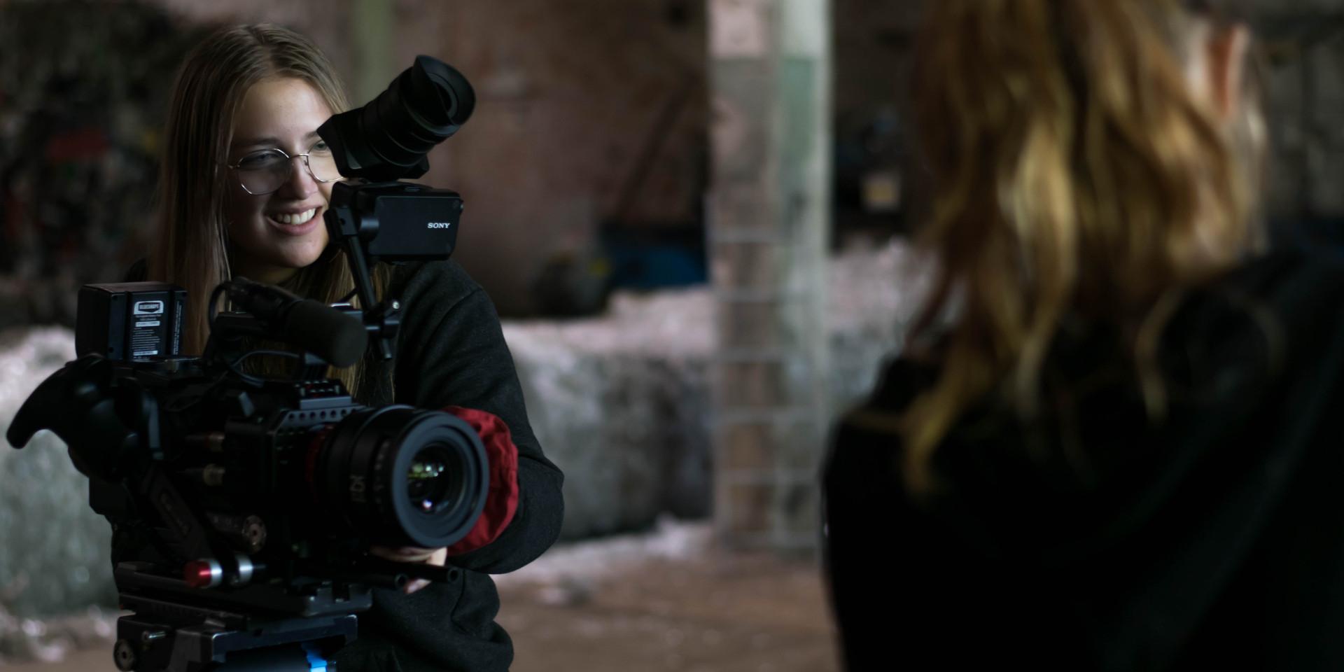 Johanna being the cinematographer and camera operator