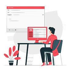ilustracion-concepto-correos-electronico