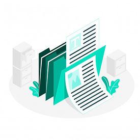 ilustracion-concepto-documentos_114360-1