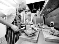 Head chef, Stephen