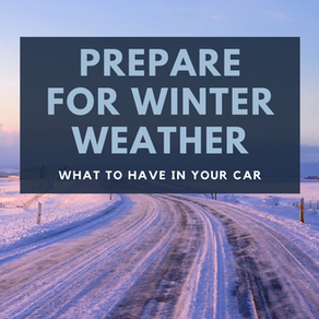 Winter Weather Car Kit - 15 Items
