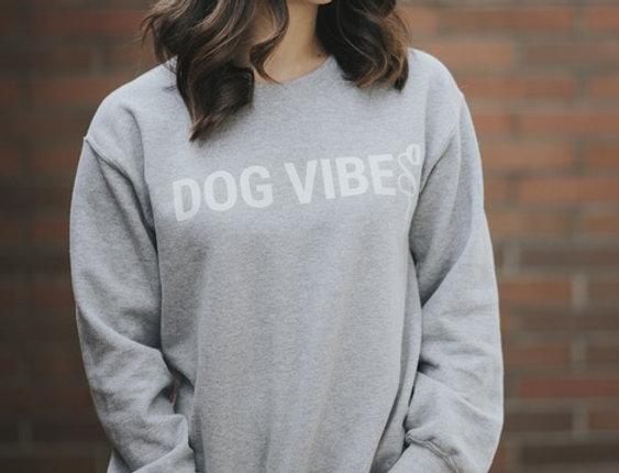 Dog vibes crewneck