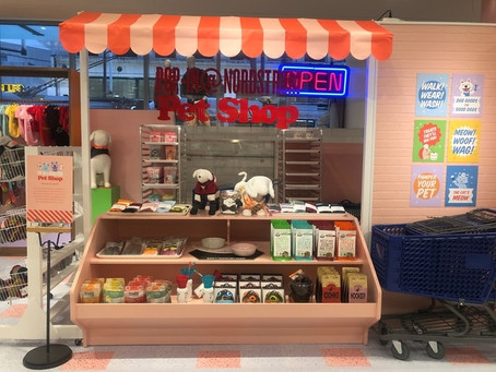 There's a Pop-Up Pet Shop in Downtown Vancouver for a limited time only
