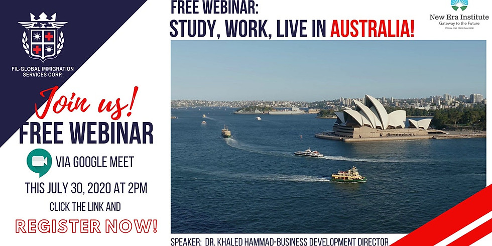 FREE WEBINAR: FLY NOW PAY LATER TO AUSTRALIA