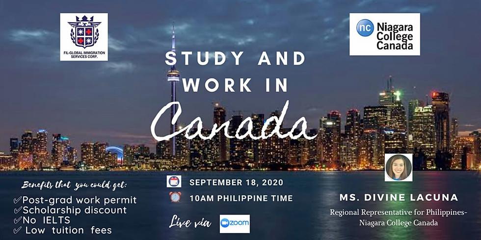 FREE WEBINAR: STUDY AND WORK IN CANADA