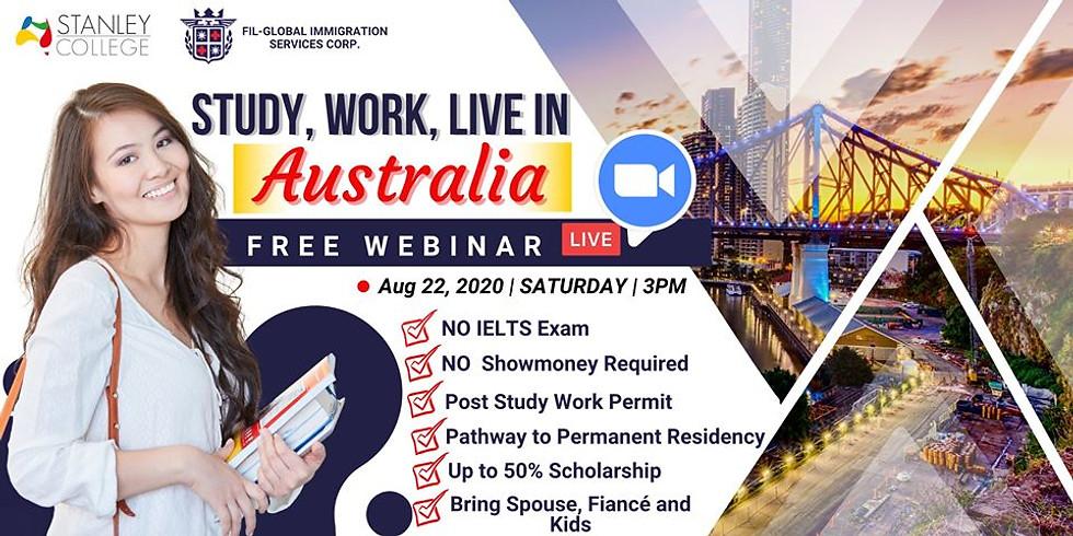 STUDY, WORK & LIVE in one of Australia's Covid Free State - PERTH 🇦🇺
