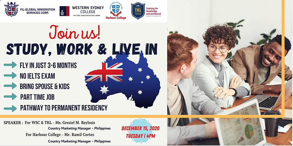 Learn How To Study, Work & Live in Sydney, Australia