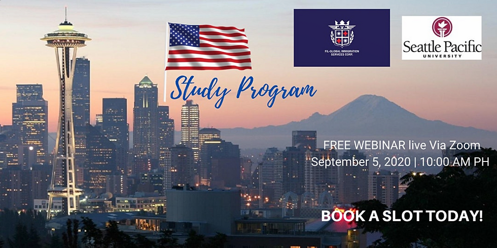FREE WEBINAR: STUDY, WORK and LIVE ABROAD! | SEATTLE PACIFIC UNIVERSITY
