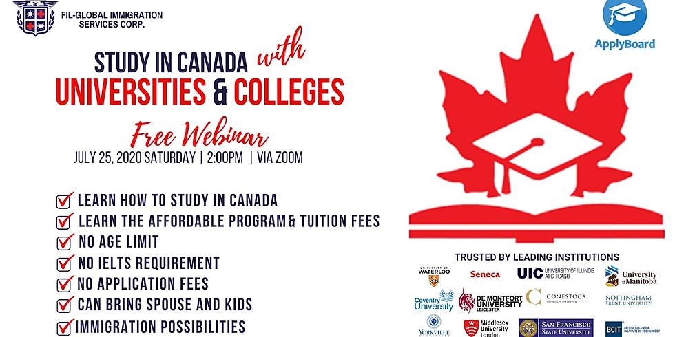 Applyboard Programs: Study in Canada