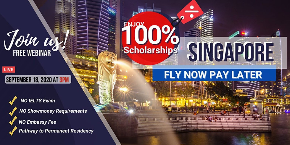 FLY NOW PAY LATER TO SINGAPORE