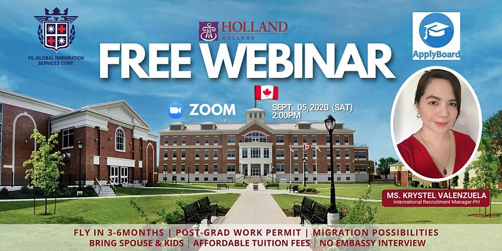 Free Webinar: Study, Work, Live in Canada!