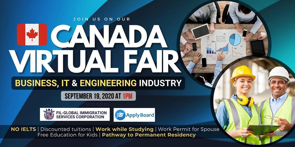 CANADA VIRTUAL FAIR 2020: Business, IT & Engineering Industry