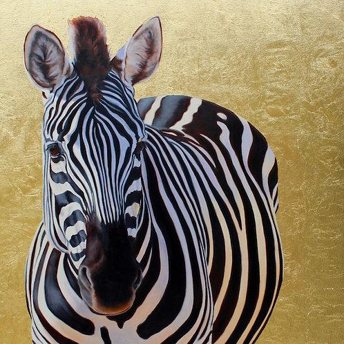'Gold 'n' Zebra' by Kate Jenvey