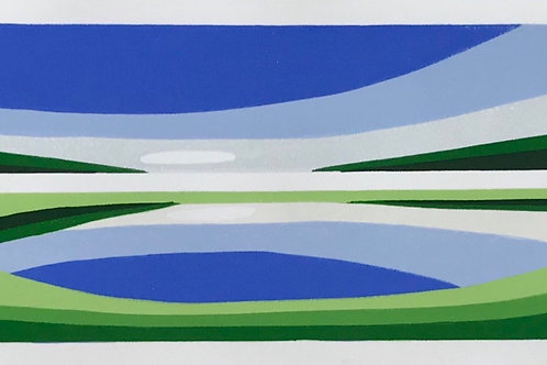 'Layered Landscape 1' by Sara Cope