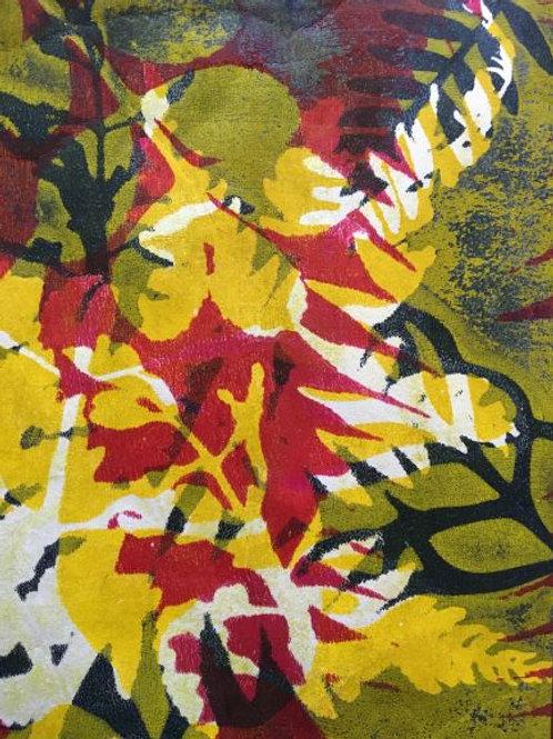 ''Abstracting the Bush #10' by Joan Mullarvey