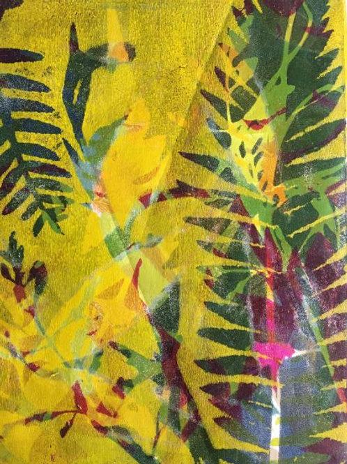 'Abstracting the Bush #5' by Joan Mullarvey