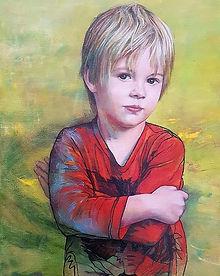 JanetLeith-Rhen-childportrait-oilonlinen
