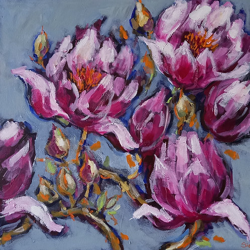 'Spring Blossoms III' by Sian Lim