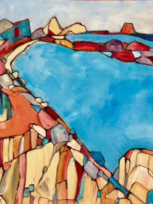'Rocky bay Nth East Tasmania' by Kay Hampton