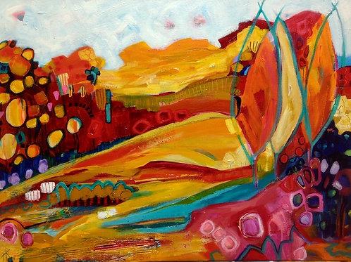 'Autumn Palette' by Kay Hampton