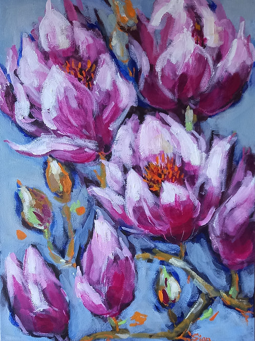 'Spring Blossoms I' by Sian Lim