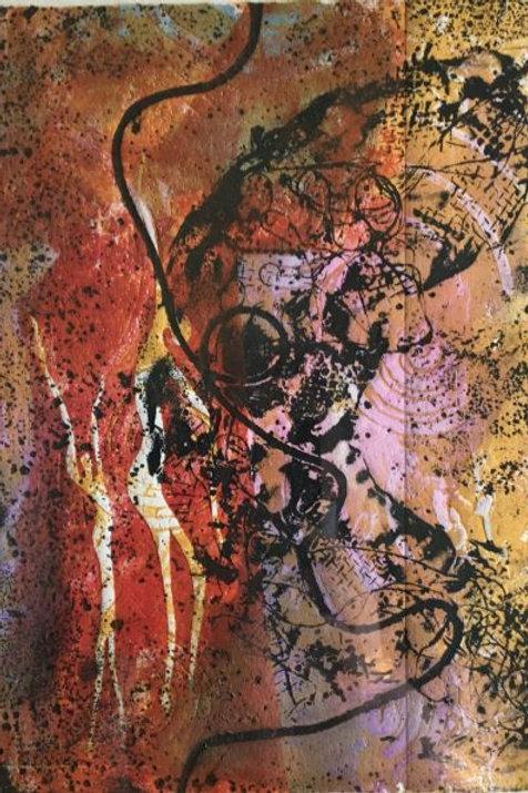 'Earth Song' 1/1 by Joan Mullarvey