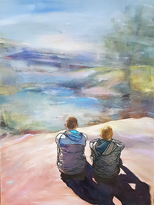 'Enjoying the View', by Janet Leith